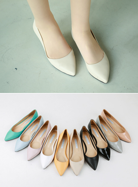 Basic v Flat Shoes