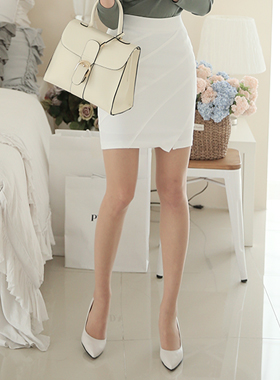 Diagonal line 5 parts Skirt