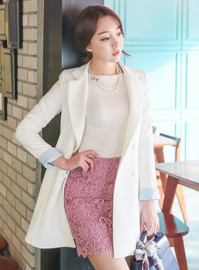 Retail Belted Aline Coat color