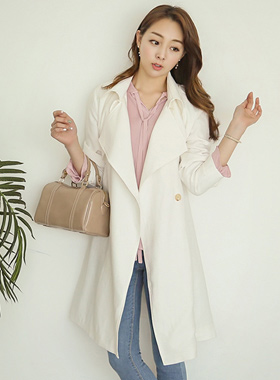 Pure Natural Trench Coat