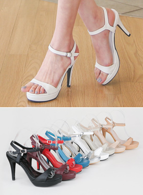 Cushion Platform shoes Strap Sandals Hill
