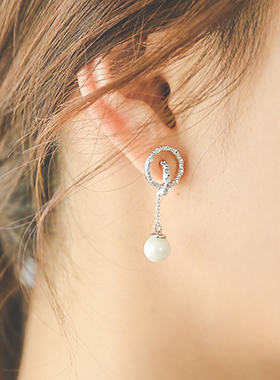 Middleton Pearl Round earring