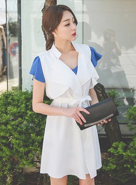 China double wing Trench Vest