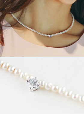simple nuclear Pearl Necklace