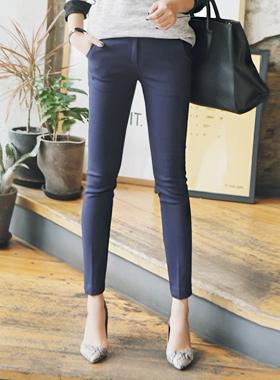 Eve Slim Fit Wool Slacks
