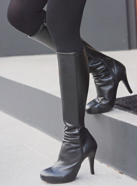 Sexy Slim Platform shoes Boots