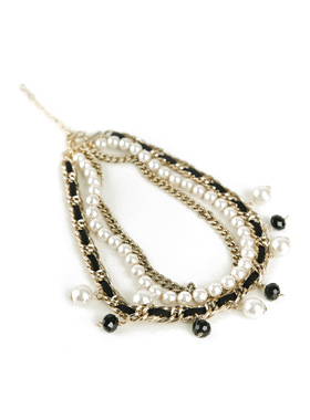 glossy pearl Necklace chain