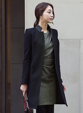 simple color scheme Wool Coat