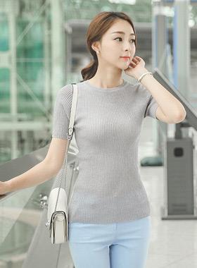 Basic Round Linen Knit