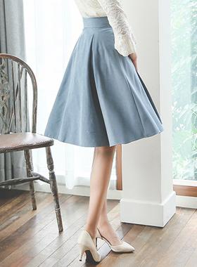 Darts feminine Flare Skirt