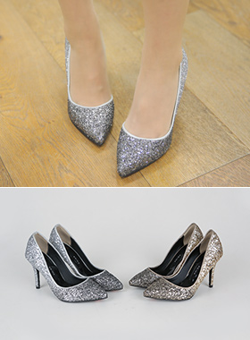 Luxury Glitter Stiletto Heel