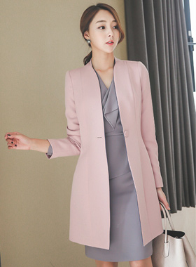 Modern Luxury Slim Long Jacket
