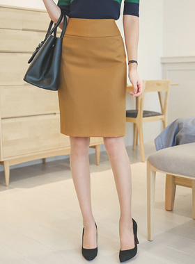 Eoteom Color Hline Skirt
