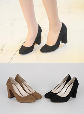 Suede Platform shoes Pump
