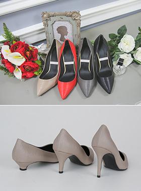 Wrinkle pumps heel (3cm / 7cm / 9cm)