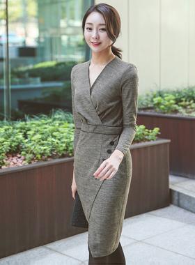 Selena Glam Tweed Dress
