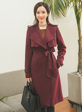 Grace feminine Trench Coat (fall)
