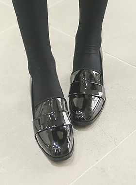 Enamel middle Loafers