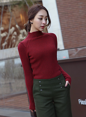 Paula van Shoulder Patch Knit nagrang