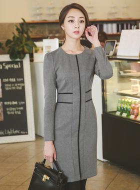Modern cross line Dress