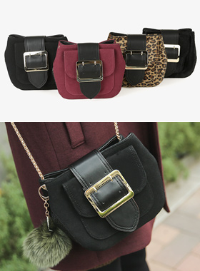Buckle Mini cross body bag