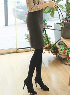 Slim napping high waist Skirt