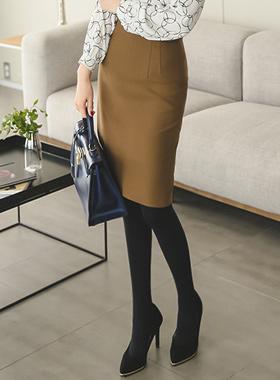 Darts simple high waist Skirt (winter)