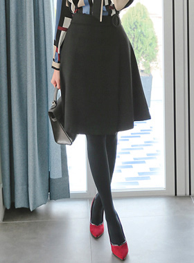 Agnes Aline wool skirt