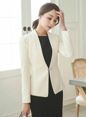 Twinkle brooch Velvet Jacket
