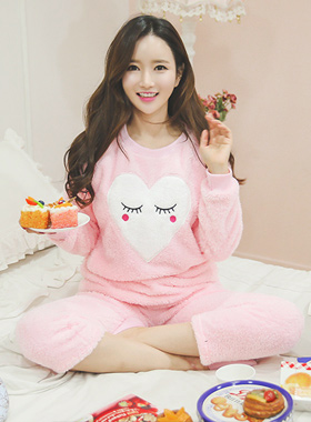 lovely Pink Pajamas Sleep Set