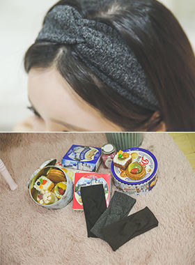 Corrugated Knit hairband