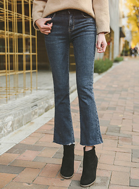 Cut Boot cut napping Denim Pants