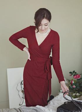 Rowling's wrap Dress