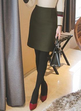 Basic Wool Wool Skirt