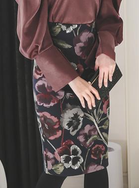 independent Flower High Cotton span Skirt