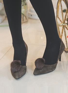 Suede Stiletto Heel donpi