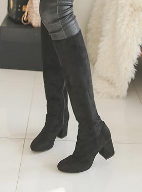Platform shoes Suede Span Boots