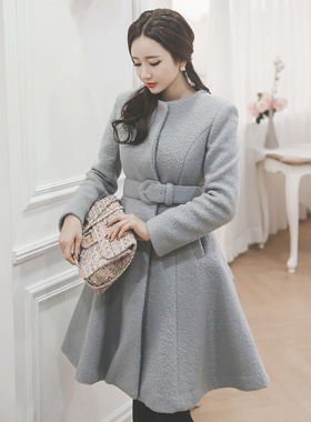 Terry lovely Flare Wool Coat