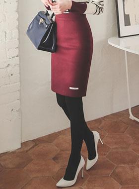 Daily Soft Wool Skirt