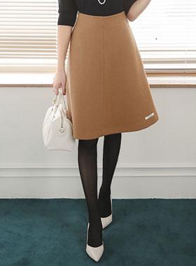 Handmade Wool Flare Skirt