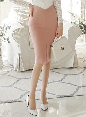 V-Span Skirt slit line
