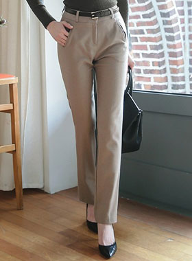 Mild Slim Straight Slacks