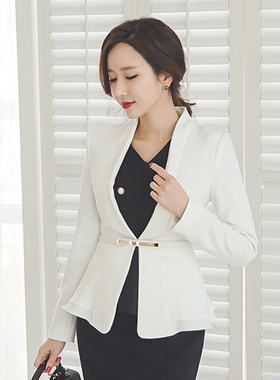 Luxury goldeuba belt Jacket
