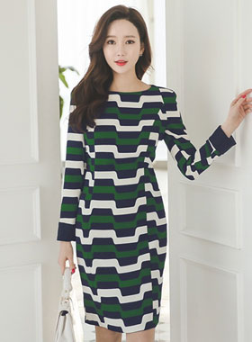 Geo Patterns color combination Dress