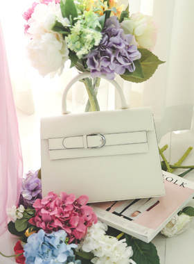 Formal Square Buckle Big Bag