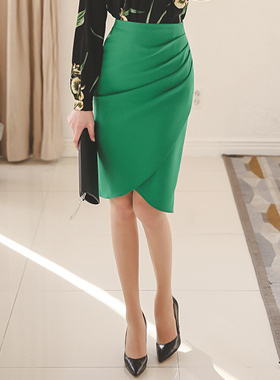 Elegance shearing Tulip Skirt
