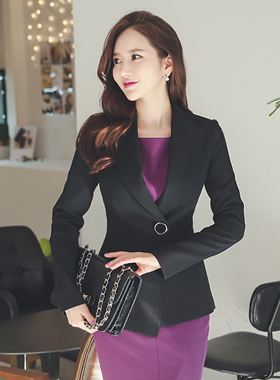 Neo-Span Big Button Jacket