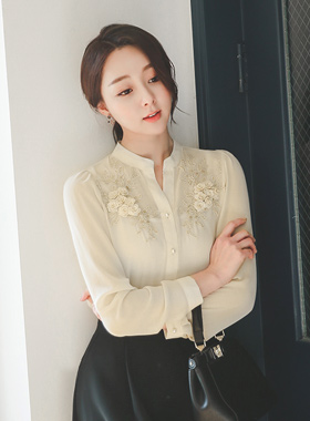 Syareumang Gold rose embroidery Blouse