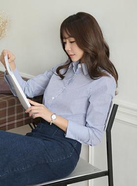 Lauren Basic Stripe Shirt