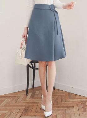 Selene Belted Aline Skirt